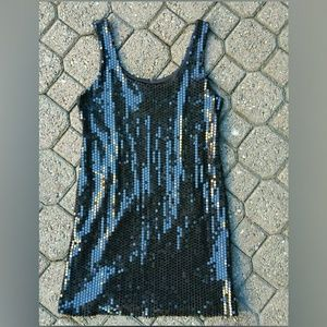 anthropologie Bailey 44 sequined mini dress